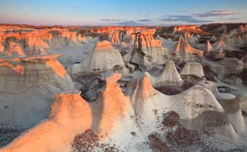 The Bisti Badlands