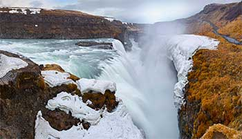 The Gullfoss (Golden Falls)