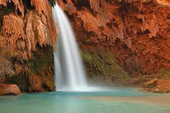 Havasupai falls Arizona USA