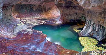 Subway at Autumn, Zion National Park