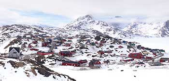 Tasiilaq City view